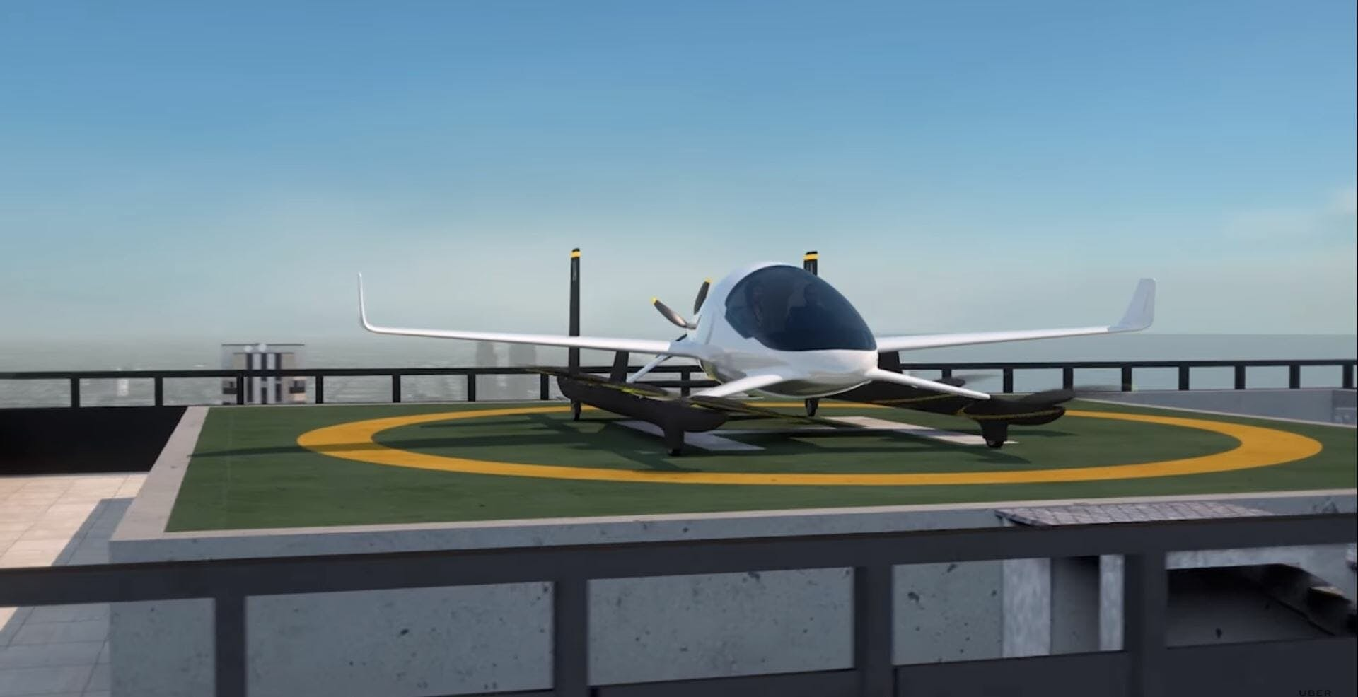 uber elevate flying taxi