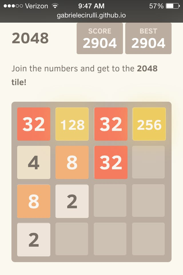 2048 strategy