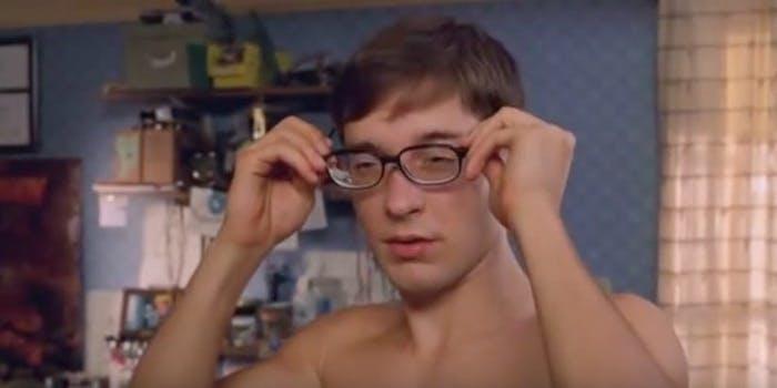peter parker glasses meme