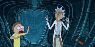 rick and morty alien