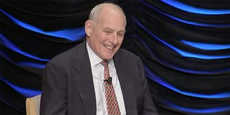 """White House chief of staff John Kelly said in an interview that """"God punished"""" him with his departure from the Department of Homeland Security."""