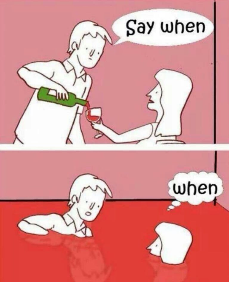 funny wine meme