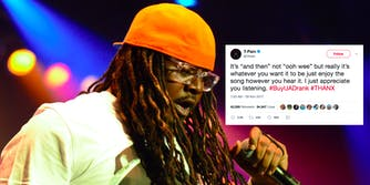 T-Pain corrects fans on lyrics