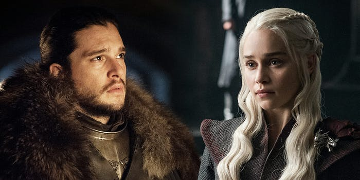 azor ahai : Jon Snow and Daenerys Targaryen