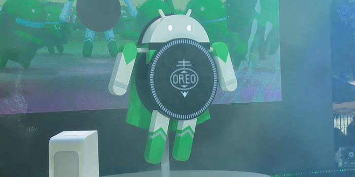android oreo google mobile operating system