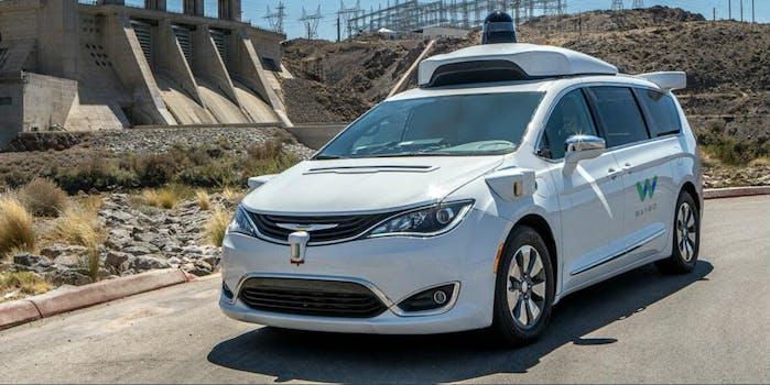 waymo self-driving autonomous car