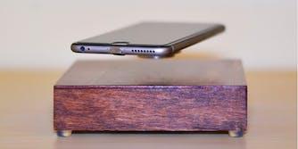 Levitating iPhone