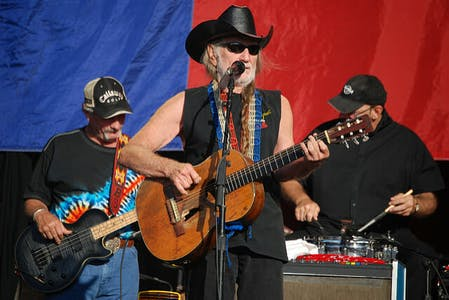 Wille Nelson in Concert