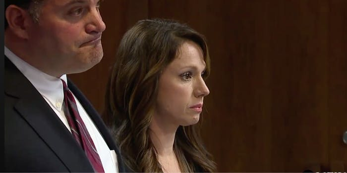 Rebecca Bredow, an anti-vaccinations mother who was sentenced to 7 days in jail