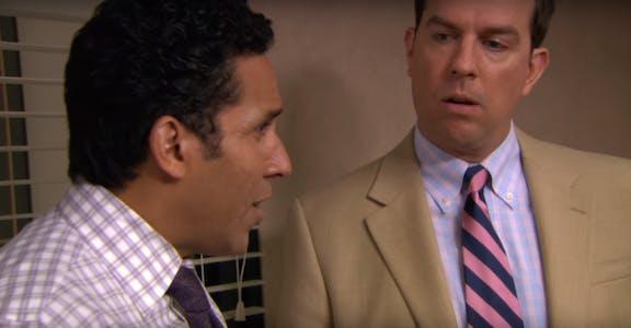 michael scott the office fake news