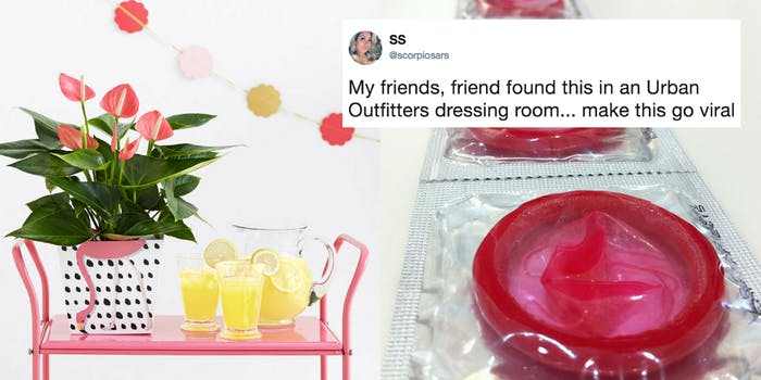 A lemonade stand and condoms, items found on this teen Bucket List