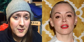 Andi Dier and Rose McGowan