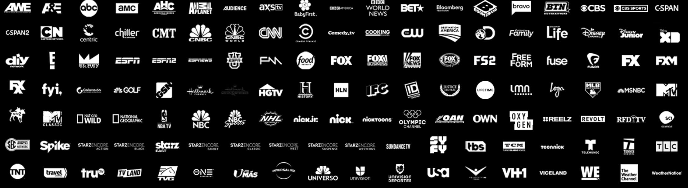 directv now channel list Gotta Have It package