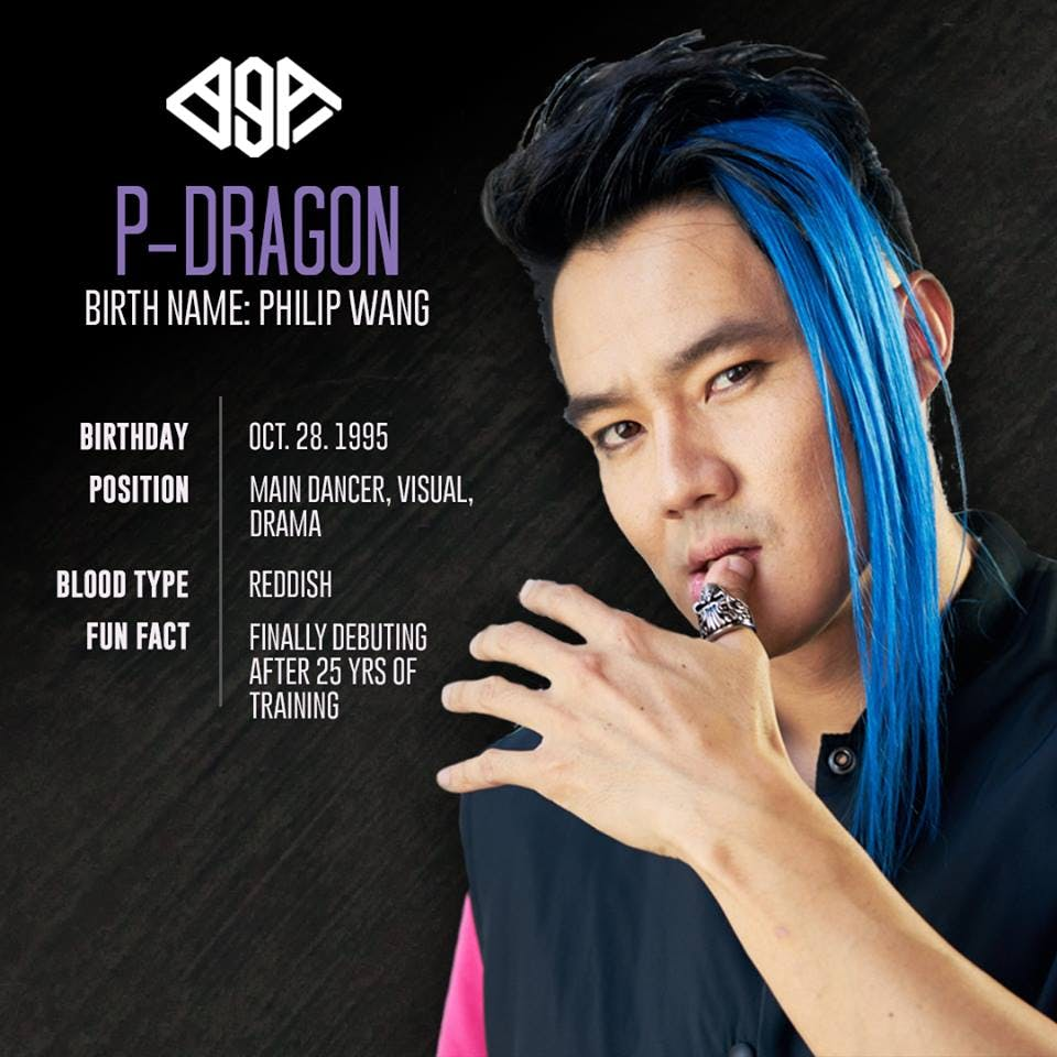 """""""P-Dragon grew that hair himself. The color comes from all that sadness inside 😓"""""""