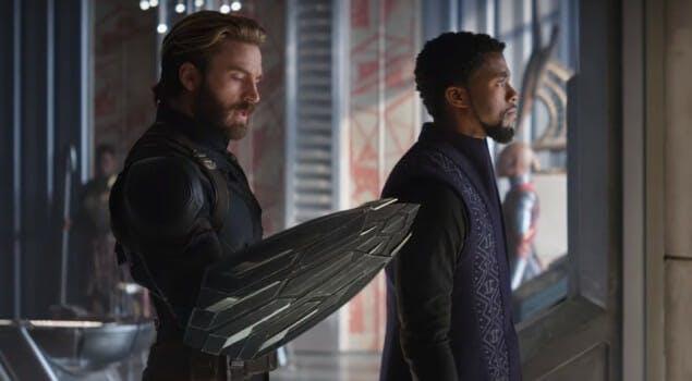 steve shield infinity war