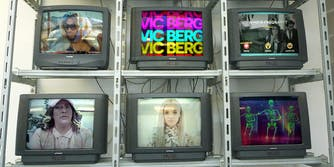 Super Deluxe shows on six televisions