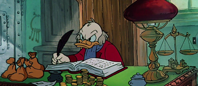 ducktales characters : scrooge mcduck