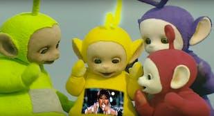 Teletubbies watch Missy Elliott