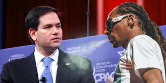Snoop Dogg and Marco Rubio
