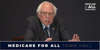 """Bernie Sanders """"Medicare For All"""" Town Hall"""