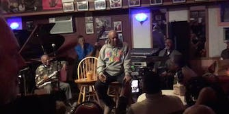 Bill Cosby onstage