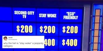 "Jeopardy made ""stay woke"" a question category"