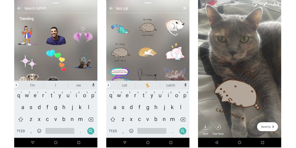 How to add GIF stickers to Instagram Stories