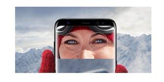 Samsung Galaxy S8 Iris Scan