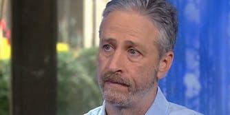 Jon Stewart on the Today show
