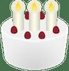 snapchat emojis: birthday cake emoji