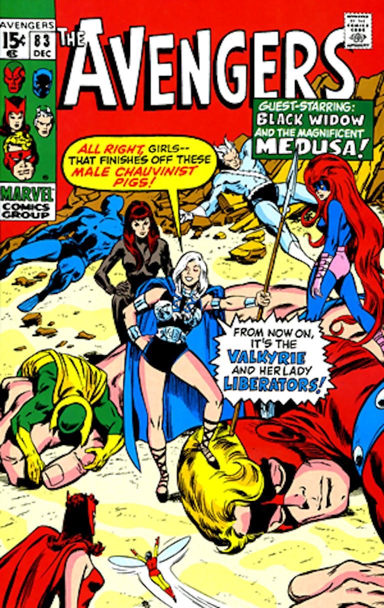 valkyrie marvel the avengers