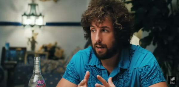 Adam Sandler movie : You don't mess with the zohan