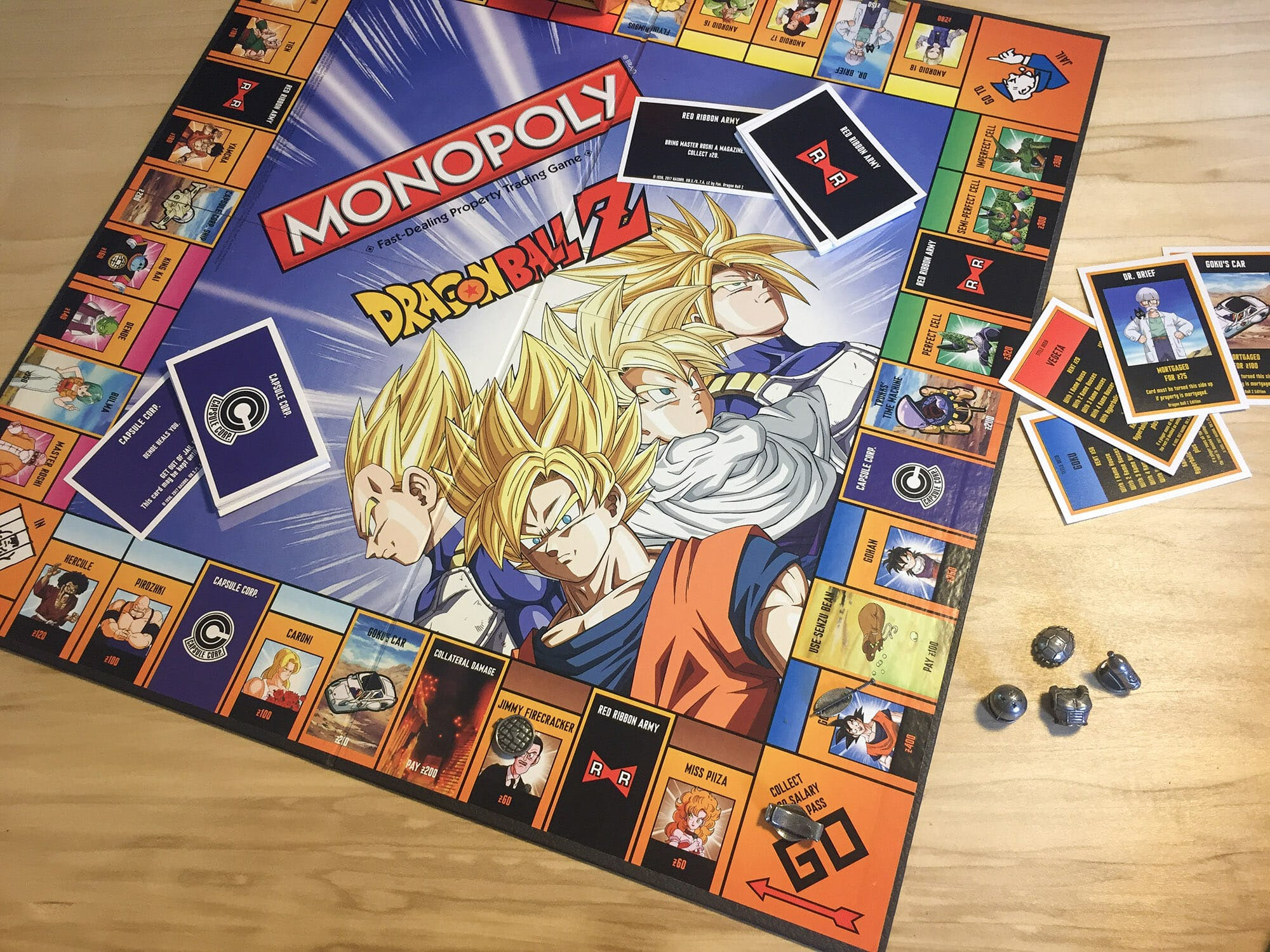 dragon ball z monopoly 4
