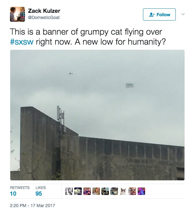 grumpy cat sxsw