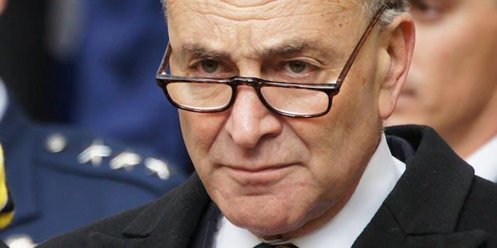 US Senator Chuck Schumer
