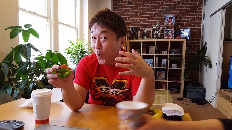 Street Fighter IV and V producer Yoshinori Ono