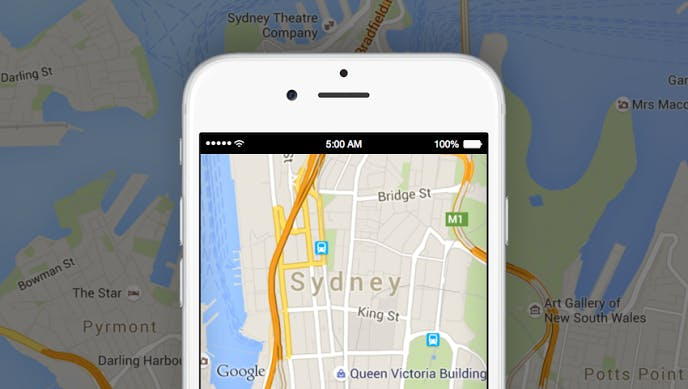 best iphone apps: Google Maps