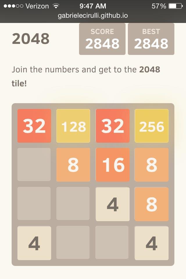 tips for winning 2048