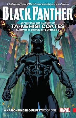 black panther marvel cover