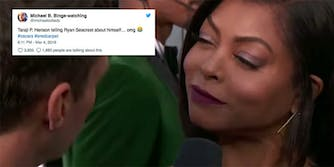 Taraji P. Henson subtly snubbed Ryan Seacrest on the Oscars red carpet following details of sexual assault accusations against him.