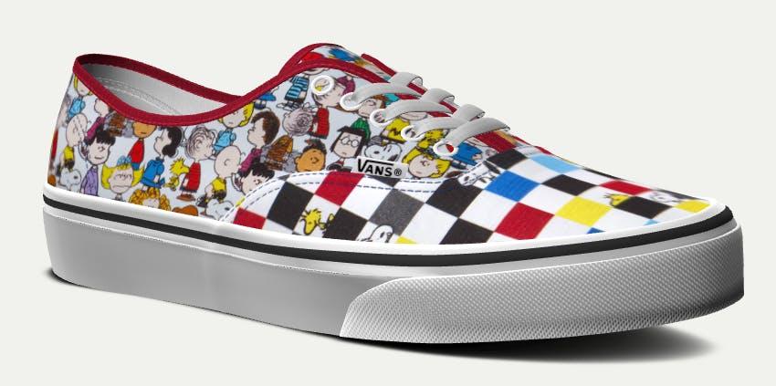 peanuts vans shoes custom