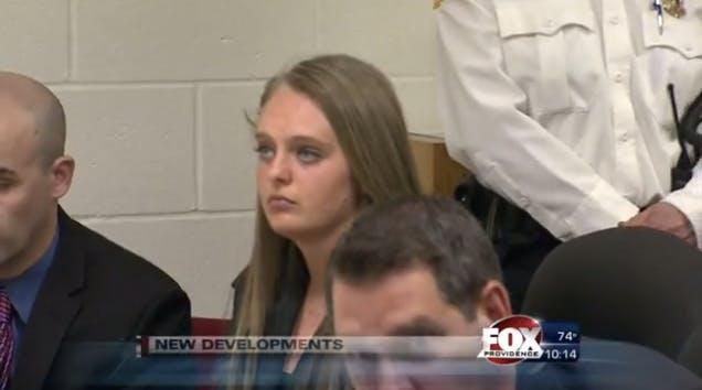 Michelle Carter in court
