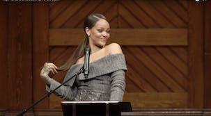 Rihanna Harvard