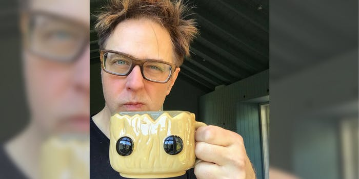 James Gunn, the director of 'Guardians of the Galaxy'