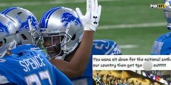 Detroit Lions racist Snapchat