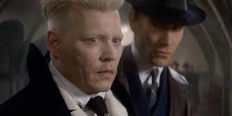 Johnny Depp as Grindelwald