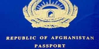 afghanistan passport