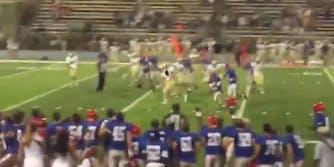 Jake Pratt touchdown Down Syndrome