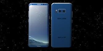 Samsung Galaxy S9 concept mockup
