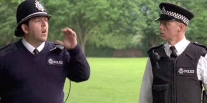 crackle movies - hot fuzz